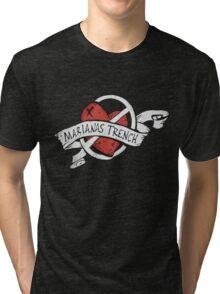 Marianas Trench Heart Logo Tri-blend T-Shirt