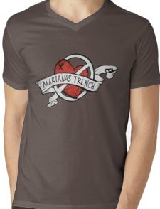 Marianas Trench Heart Logo Mens V-Neck T-Shirt