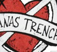 Marianas Trench Heart Logo Sticker