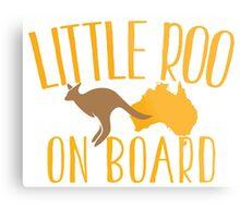 Little roo on Board (Australian pregnancy meternity design) Metal Print