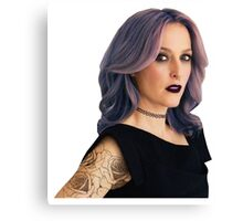 Punk Gillian (Version 2) Canvas Print