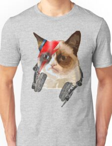 cat david bowie Unisex T-Shirt