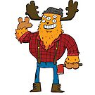 Lumberjack Monster by striffle
