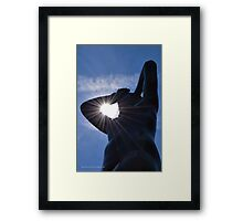 Sun Rays In Maja's Arm - Statue By German Sculptor Gerhard Marcks - Kykuit Rockefeller Estate | Sleepy Hollow, New York Framed Print