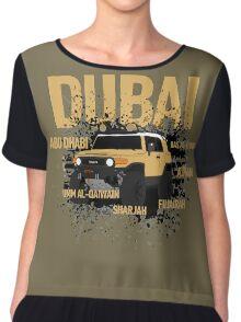 Dubai  Chiffon Top