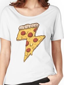 Thunder Cheesy Pizza Women's Relaxed Fit T-Shirt