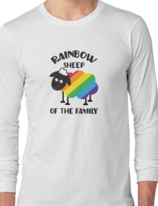 Rainbow Sheep Of The Family LGBT Pride Long Sleeve T-Shirt