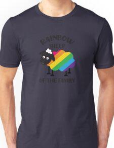 Rainbow Sheep Of The Family LGBT Pride Unisex T-Shirt