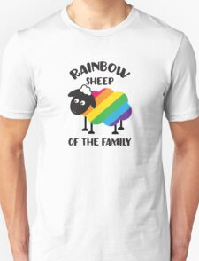 Rainbow Sheep Of The Family LGBT Pride Unisex T-Shirt
