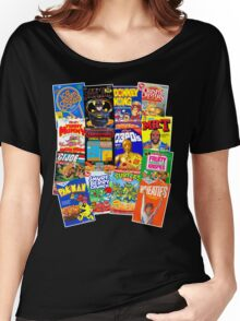 80s Totally Radical Breakfast Cereal Spectacular!!! Women's Relaxed Fit T-Shirt
