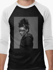 Lisbeth Salander is a... Men's Baseball ¾ T-Shirt