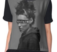 Lisbeth Salander is a... Chiffon Top