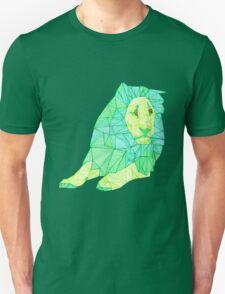 Green Lined Lion Unisex T-Shirt