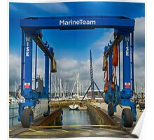Boat Lift Poster