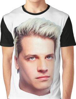 Milo Yiannopoulos Portrait Graphic T-Shirt