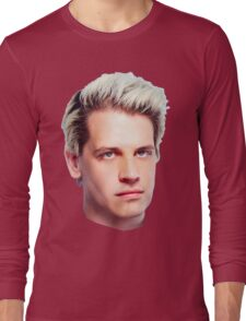 Milo Yiannopoulos Portrait Long Sleeve T-Shirt