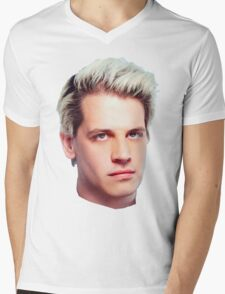 Milo Yiannopoulos Portrait Mens V-Neck T-Shirt