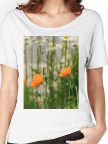 Field poppy  Women's Relaxed Fit T-Shirt