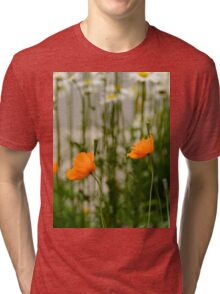 Field poppy  Tri-blend T-Shirt