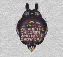 totoro we are the  children One Piece - Long Sleeve