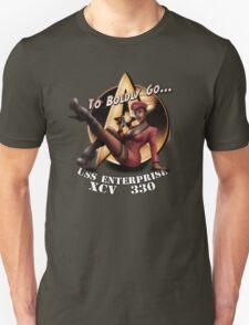 Star Trek Pin-Up Unisex T-Shirt