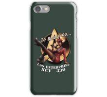 Star Trek Pin-Up iPhone Case/Skin
