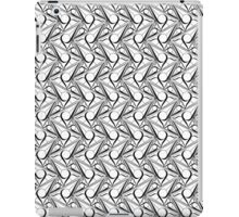 Triangle pattern with circle iPad Case/Skin