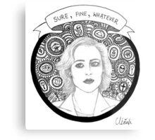Dana Scully Metal Print