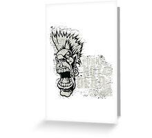 Mr. Punk Greeting Card