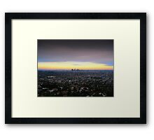 Los Angeles, California Framed Print