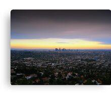 Los Angeles, California Canvas Print
