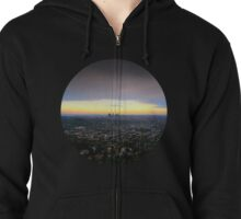Los Angeles, California Zipped Hoodie