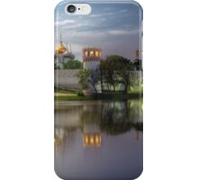 Day to night at Novodevichy convent iPhone Case/Skin