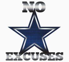 Dallas Cowboys No Excuses One Piece - Long Sleeve