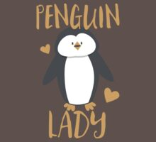 Penguin Lady One Piece - Short Sleeve