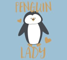 Penguin Lady Kids Tee