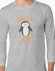 Penguin Lady Long Sleeve T-Shirt