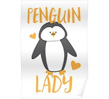 Penguin Lady Poster