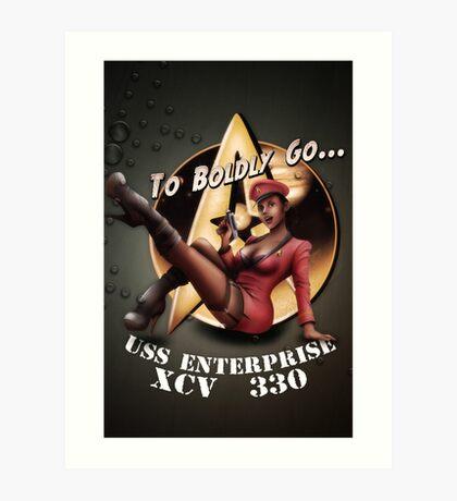 Star Trek Pin-Up Art Print