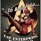 Star Trek Pin-Up by William Black