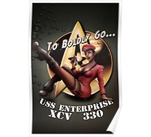 Star Trek Pin-Up Poster