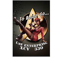 Star Trek Pin-Up Photographic Print