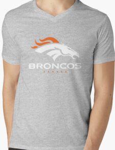 Denver Broncos Super Bowl Mens V-Neck T-Shirt