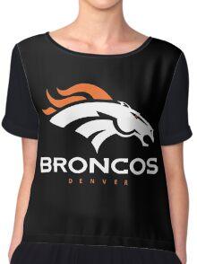 Denver Broncos Super Bowl Chiffon Top