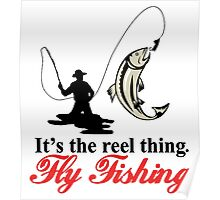 Fly Fishing Poster
