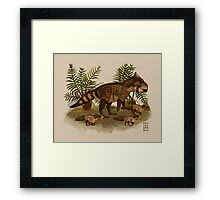 A Fall Day Out Framed Print
