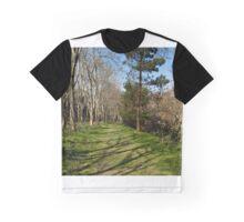 Green Path  Graphic T-Shirt