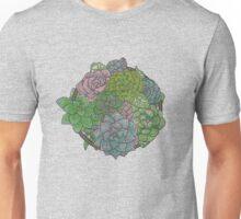 Let it Grow, Succulent Illustration Unisex T-Shirt