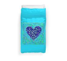 Cats Blue Heart  Duvet Cover