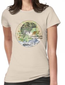 behind the sea Womens Fitted T-Shirt